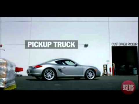 Porche-Engineered for Magic(Pickup Truck) Commercial