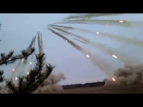 大量のミサイル発射。現実離れし過ぎた現実。