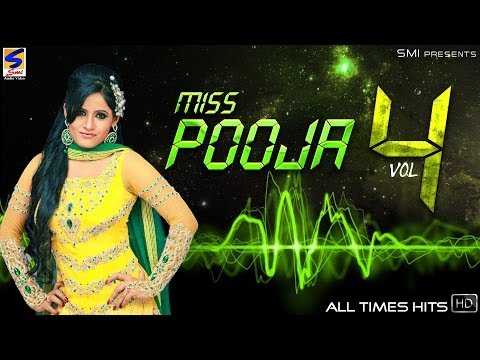 Miss Pooja Top 10 All Times Hits Vol 4 | Non-Stop HD Video | Punjabi New hit Song -2016
