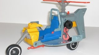 Ecto-2 (1988) - My Kenner Real Ghostbusters Figures Collection