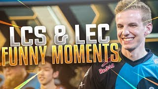 20 Minutes of Funny Moments In LEC & LCS Compilation