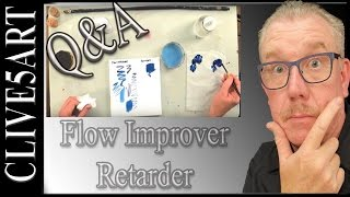 What Is Flow Improver / Retarder, Acrylic painting for beginners,#clive5art