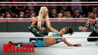 Bayley keeps Dana Brooke at arm's length: WWE Hell in a Cell 2016