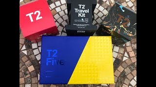 T2 Tea Gifts Haul & Unboxing