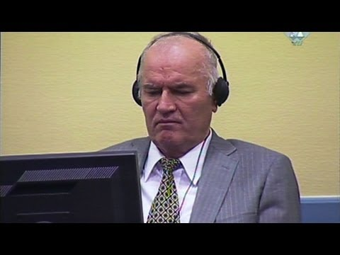 Mladic to stand trial on Bosnian war crimes