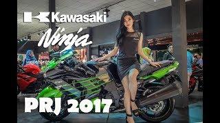 Mencari jejak tanda new Ninja 250 Fi di Boot Kawasaki PRJ 2017