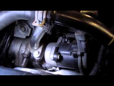 Land Rover Tdv6 Egr Valve Replacement Youtube