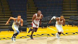 Who is the Fastest NBA Player? Stephen Curry, LeBron James, Michael Jordan, Kobe Bryant? NBA 2K17