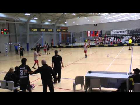 2014 IHF Trophy Oceania - New Zealand vs New Caledonia (Boys)