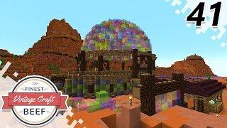 Thorn Dome Tournament! - MINECRAFT (VintageCraft Server) - EP41 (Minecraft Video)
