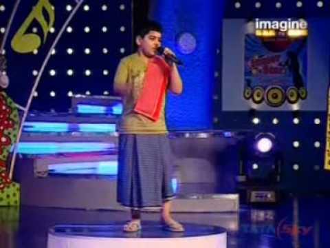Junior Star Super Singer performance No. 2 by Sarthak Kalyani...
