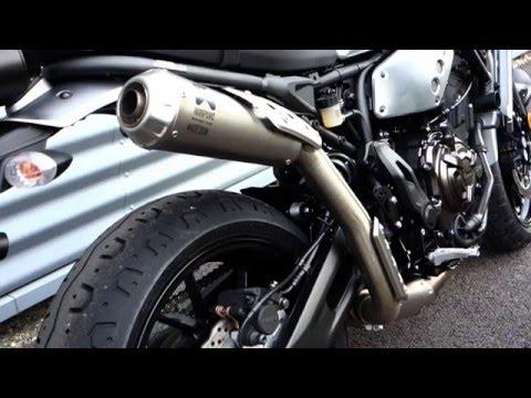 Download Yamaha XSR700 AKRAPOVIC EXHAUST Sound