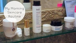 Morning Skincare Routine for Hormonal Acne (K Beauty / Drugstore / High-End)
