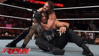 Roman Reigns vs. Seth Rollins: Raw, December 29, 2014
