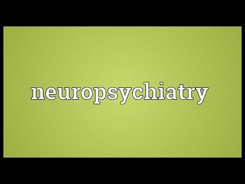 Header of neuropsychiatry