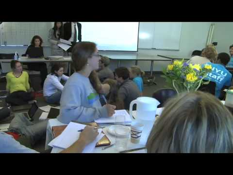 Dartmouth's Science for Sustainable Systems:  United Nations Climate Summit Simulation