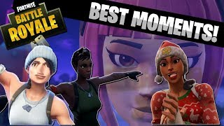 FORTNITE BEST MOMENTS MONTAGE!