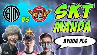 SKT MANDA en el MSI | SKT T1 vs TSM | Highlights y Resumen en Español