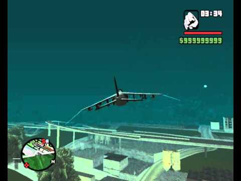 "GTA san andreas ""have to fly with Hydra"""