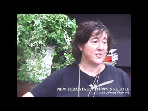 Filmmaker Christine Vachon at the NYS Writers Institute in 2006