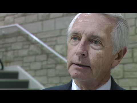 Governor Steve Beshear comments on the University of PIkeville