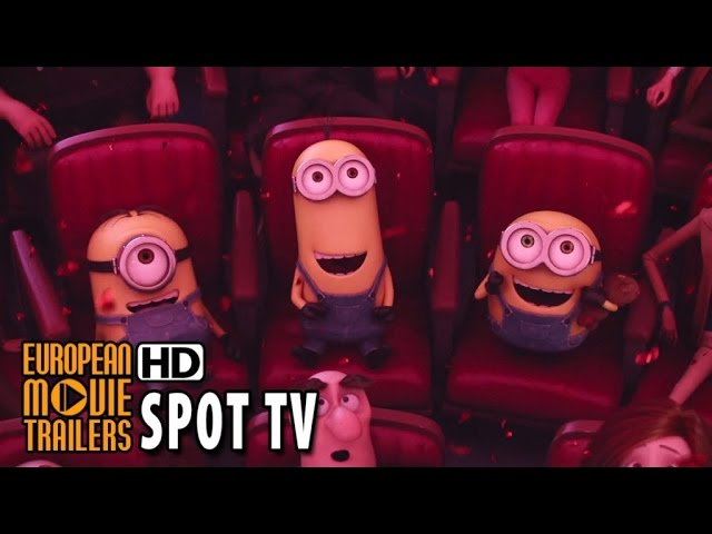 LOS MINIONS Spot TV #4 en español (2015) HD