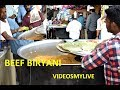 BEEF BIRYANI Muslim Prepared 600 People AMBUR AYOUB HOTEL INDIAN STREET FOOD