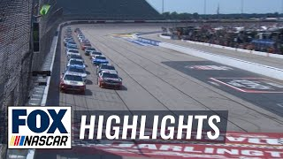 Sports Clips VFW 200 at Darlington | NASCAR on FOX HIGHLIGHTS