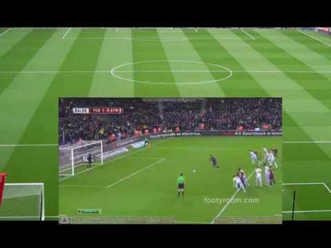 Barcelona vs Atletico Madrid (1-0)   Highlights & All Goals   Full Matchs La Copa  21 Jan 2015