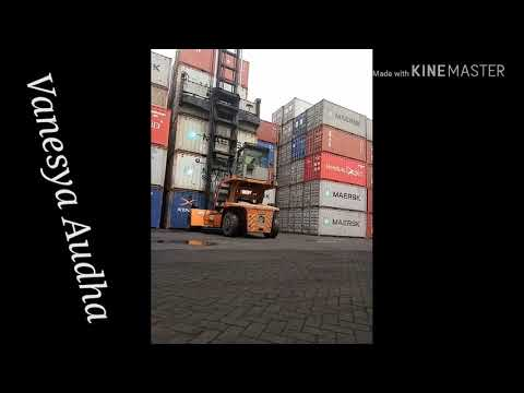 Aktivitas Bongkar Muat Container Di PT. Mitra Jaya Bahari