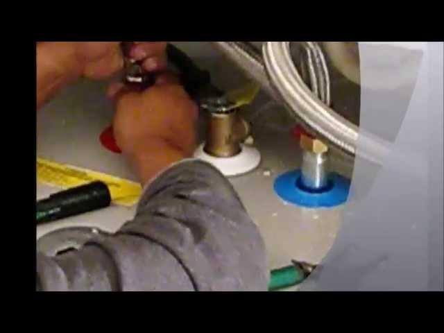 como instalar un calentador de agua