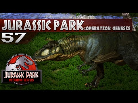 Jurassic Park: Operation Genesis - Episode 57 - Carcharodontosaurus out to play