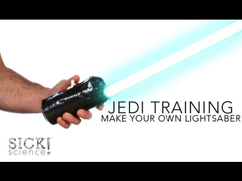 Make Your Own Lightsaber - Sick Science! #137