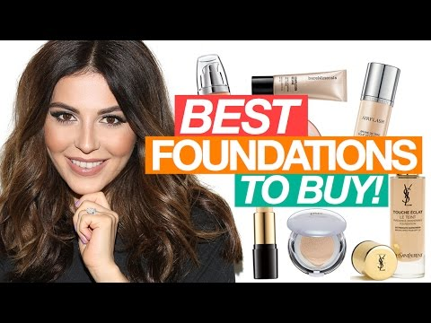 2016 Best Foundations I Drugstore to High End