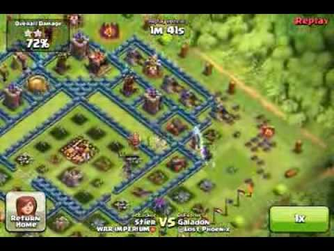 clash of clans - way to 4.000 trophies part 2