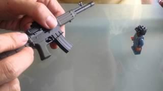 Đồ chơi  độc đáo - súng tí  hon lắp ráp, bắn được.