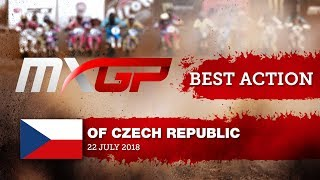 Jorge Prado Takes the MX2 Red Plate MXGP of Czech Republic 2018