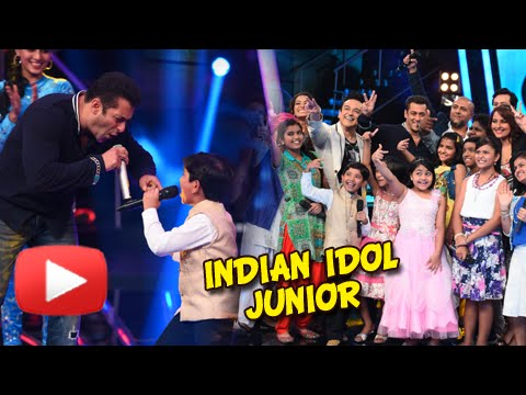 Salman Khan Sings on the Sets of Indian Idol Junior – Watch Now! | Bajrangi Bhaijaan Promotions