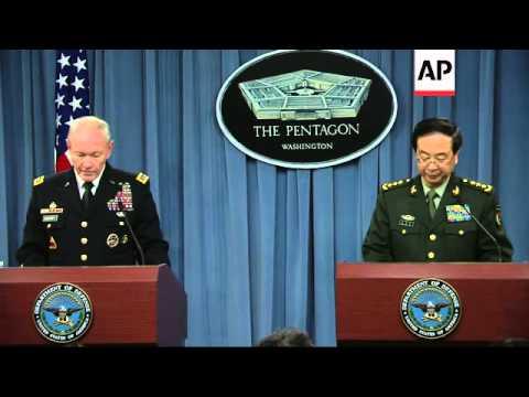 PLA's top general Fang visits Pentagon, meets Hagel, comments