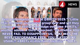 BRIT Awards 2019: Jack Whitehall takes BRUTAL swipe at Simon Cowell over Little Mix   BS NEWS