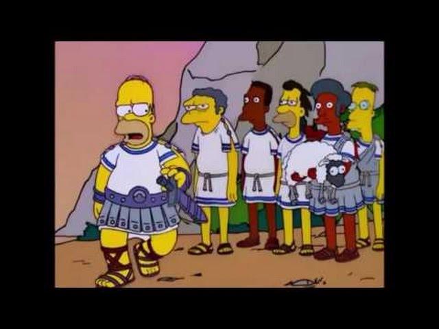 La Odisea de Homero (Parte 1/2) Los Simpson thumbnail