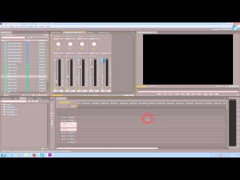 Как сделать звук в adobe premiere pro cc 81