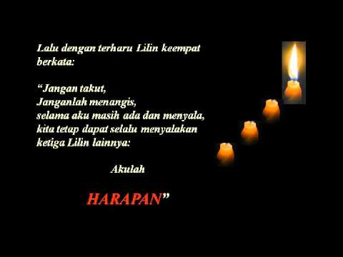 Video Motivasi 4 Lilin video