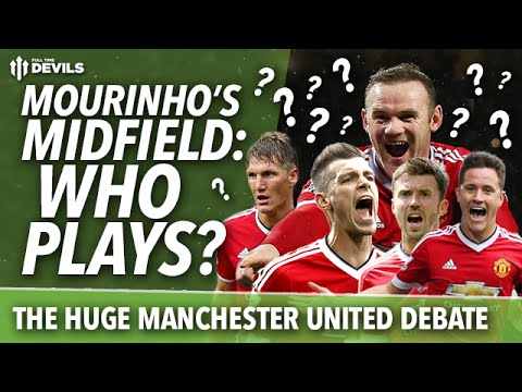 José Mourinho's Midfield: The HUGE Manchester United Debate! Who Will Play?
