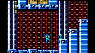 (NES) Megaman 2 Romhack (Rockman Exile) Part 1 - Crash Man