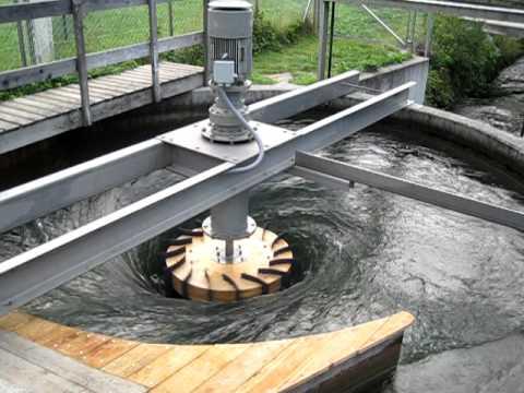 ZOTLÖTERER - worldwide first Gravitation Water Vortex Power Plant