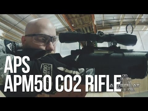 APS Shell Ejecting CO2 Airsoft Sniper Rifle A3 APM50 - AirSplat On Demand