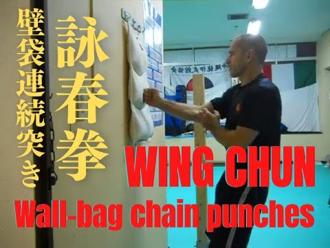 Wing Chun - wall bag training Image 1