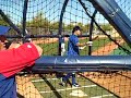 Video: Ian Kinsler batting practice