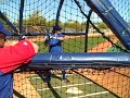 Video: Ian Kinsler batting practice